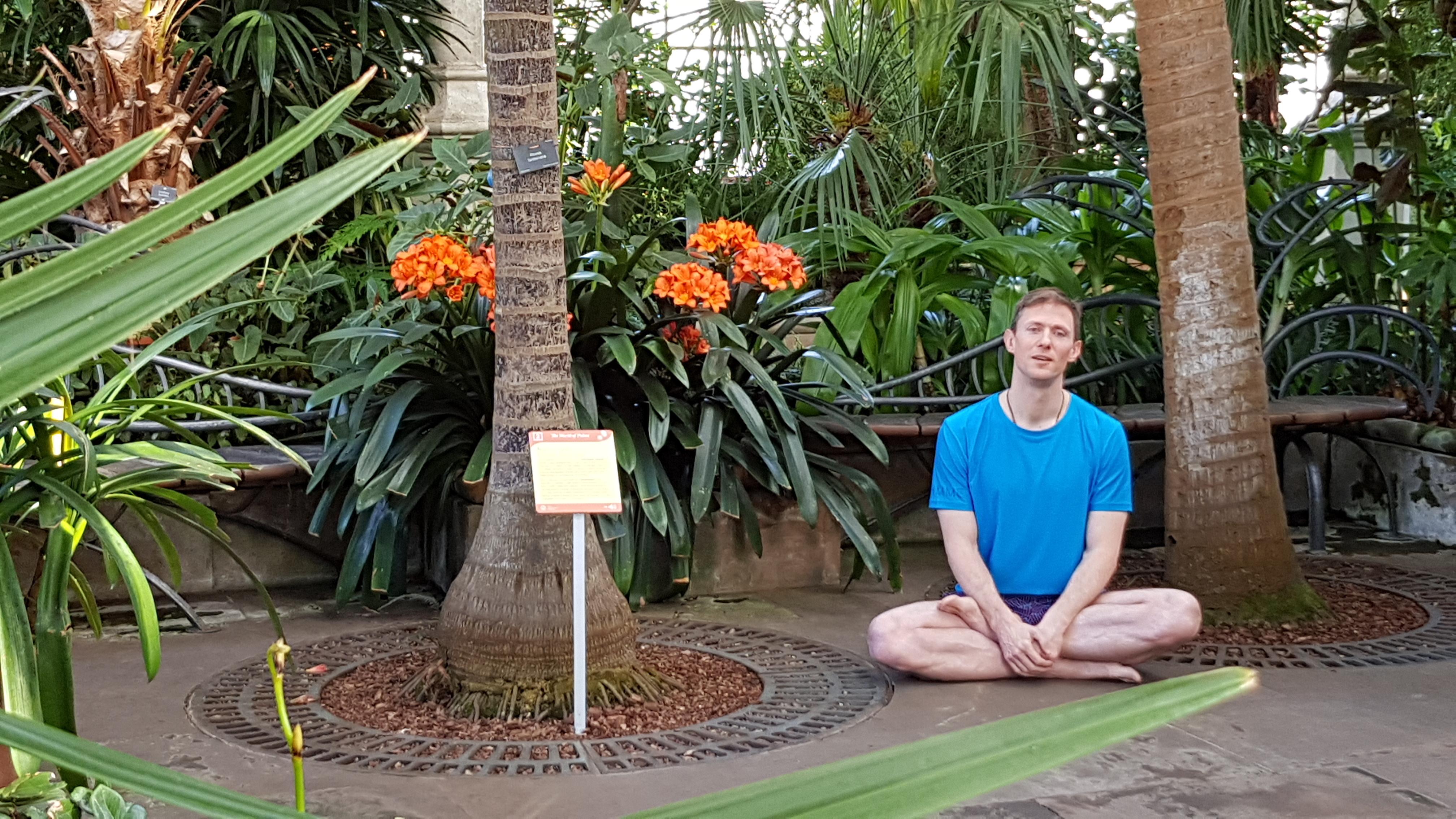 Ardhapadmasana-Botanics